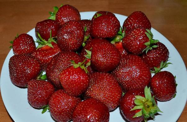 Клубника Полка ягоды