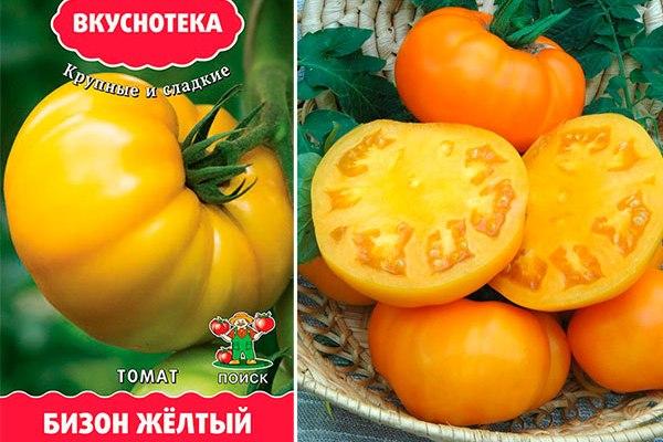 Описание томатов сорта Бизон